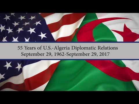 55 Years of U.S.-Algeria Diplomatic Relations