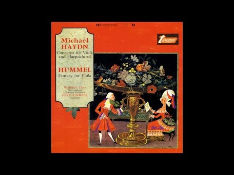 Michael Haydn: Concerto for Viola and Harpsichord - Ernst & Lory Wallfisch
