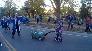 K State Yosakoi team performing Yocchore in the Homecoming parade. ...