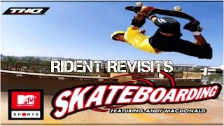 Rident Revisits MTV Skateboarding