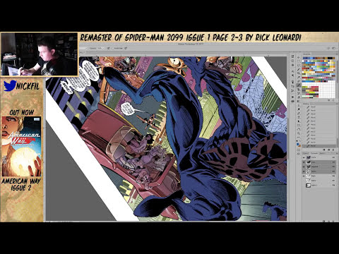 Remastering Spiderman 2099 from 1992 part 5
