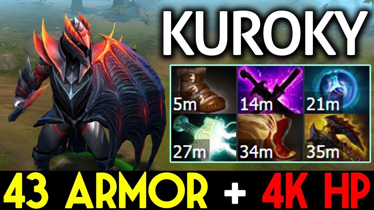 Kuroky Dota  Dragon Knight Tanky Build K Hp