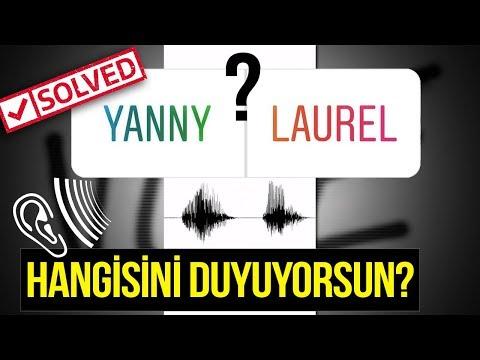 HERKESİN KAFAYI YEDİĞİ O SESİN SIRRI ÇÖZÜLDÜ! ( Yanny vs laurel )
