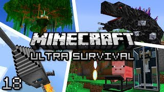 Minecraft: Ultra Modded Survival Ep. 18 - LITTLEFOOT AND THE SHARPTOOTHS