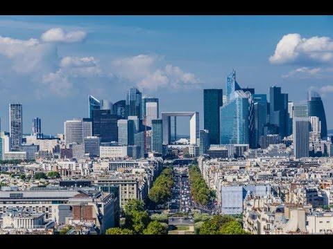 La Defense civari Paris turu
