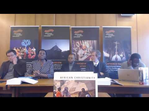 World Council of Churches book discussion: Anthology of African Christianity