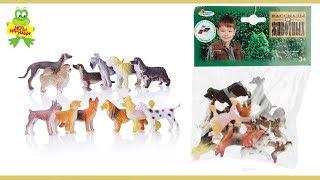 Играем вместе Набор фигурок Собаки 6 см. 12 шт.