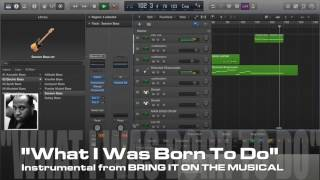 """Bring It On! PRO Karaoke/Instrumental """"WHAT I WAS BORN TO DO"""""""