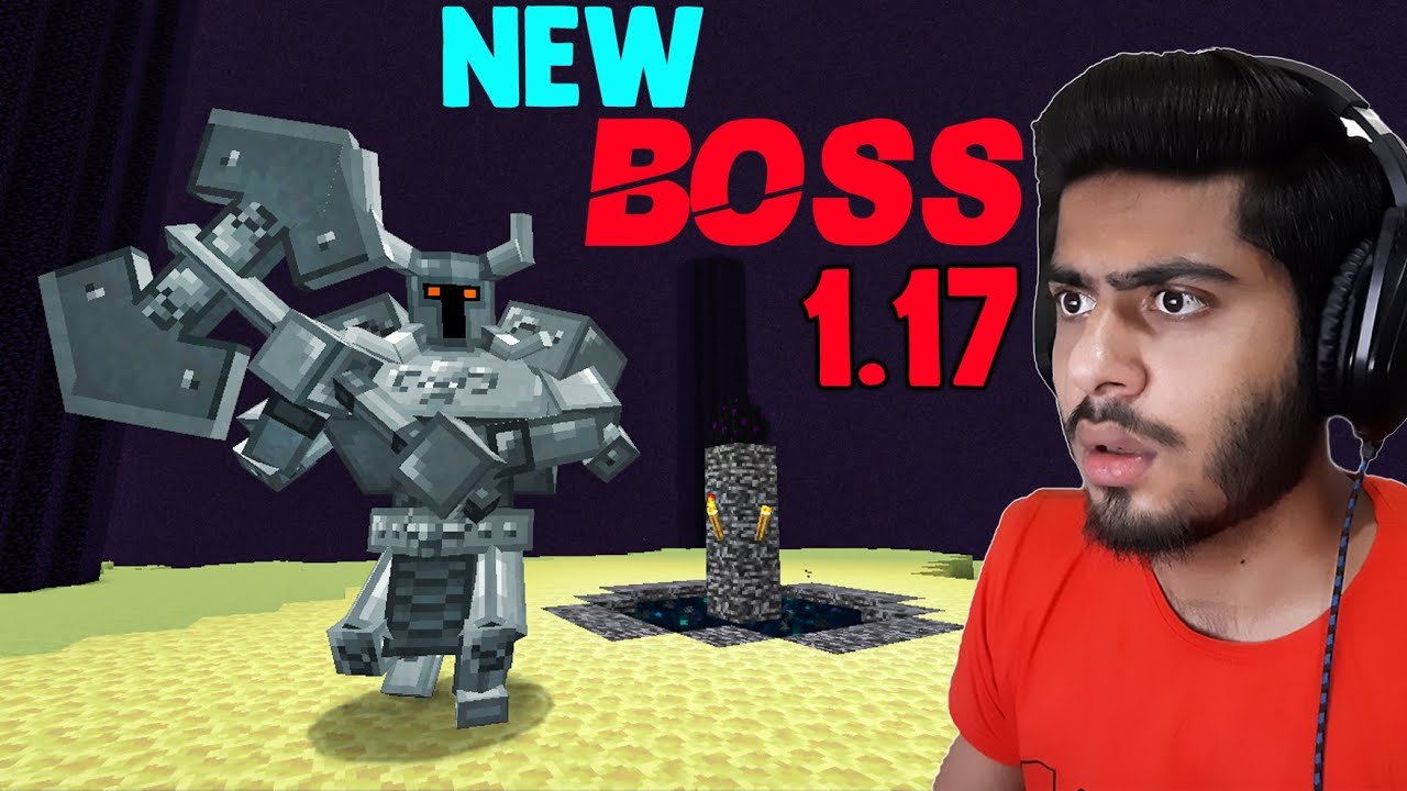 Download Minecraft But I Fight New Boss In Minecraft!