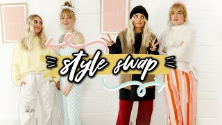 SISTER STYLE SWAP... My ~EdGy~ Sister Picks My Outfits | Aspyn Ovard