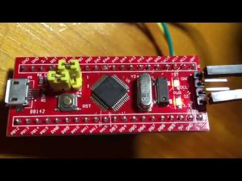 STM32 Arduino (STM32F103C8 / Programming STM32 with Arduino and Mac)