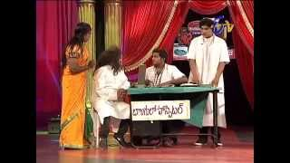 Jabardasth - జబర్దస్త్ - Rocket Raghava Performance on 30th October 2014