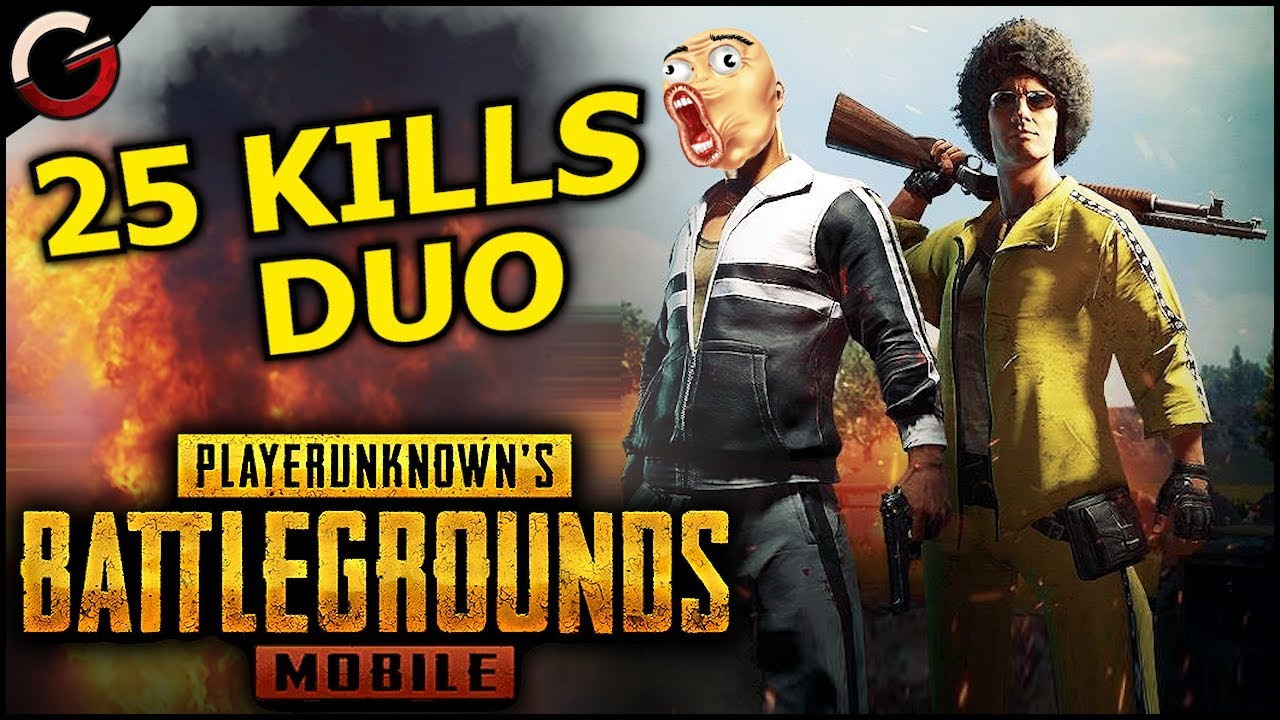 Pubg Mobile Android Ios Gameplay Ultra Graphics: 25 KILL DUO WIN IN PUBG Mobile!