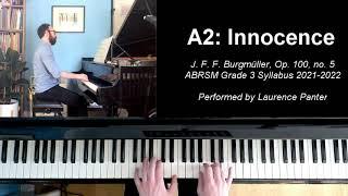 A:2 Innocence (ABRSM Grade 3 piano, 2021-2022 syllabus)