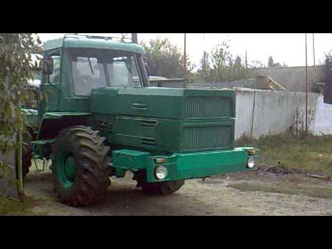 трактор т-150 к с мотором ямз-238, Видео, Смотреть онлайн