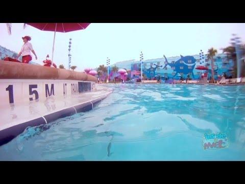 Underwater Audio In Finding Nemo Pool At Disney 39 S Art Of Animation Resort Youtube