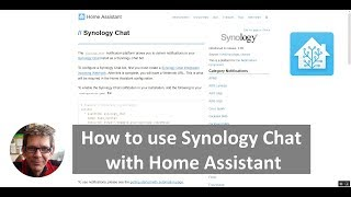 How To Use Synology Chat with Home Assistant