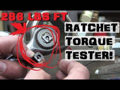 How Much Torque? | Broaching squares to test RATCHETS!