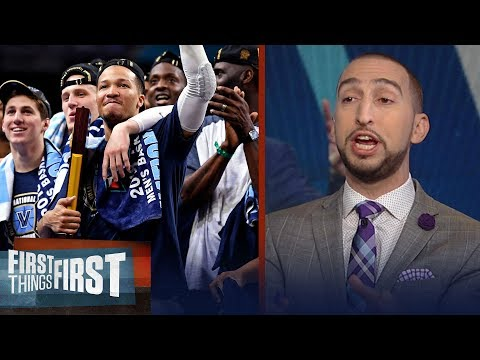 Nick Wright on Villanova dominating the NCAA Men\'s Basketball tourney | FIRST THINGS FIRST