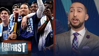 Nick Wright on Villanova dominating the NCAA Men's Basketball tourney | FIRST THINGS FIRST