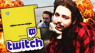 Post Malone Discusses Beerbongs and Bentleys (First Stream)