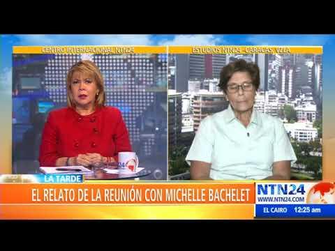 """""""Bachelet nos abrazó y nos dijo que la justicia iba a llegar"""": madre de joven asesinado en Venezuela"""