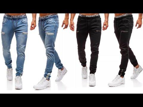 Jeans Para Hombres 2020 Moda Masculina 2020 Youtube