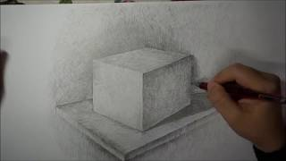 Drawing using cross hatching