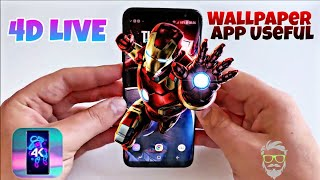 4K Live Wallpapers 4D - App Download Free | Useful | 100% Working