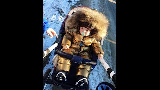 Обзор детского костюма Moncler