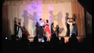 Лагерь Орбита 2 смена 2013 2 отряд танец Танго в стиле ню