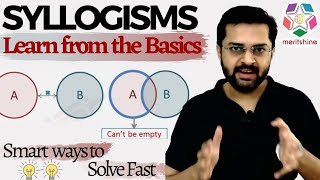 Syllogism - 1 (Basics of Syllogisms & Venn Diagrams) - Deductive Logic
