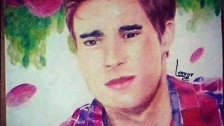 Drawing Jorge Blanco | Leon - Violetta