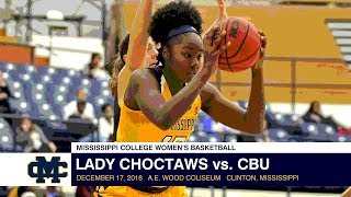 Women's Basketball: Lady Choctaws vs. Christian Brothers