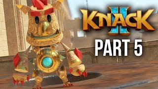 KNACK 2 Walkthrough Part 5 - TARGUN RUINS (PS4 Pro 60fps Gameplay)