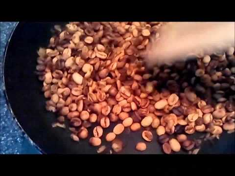 Green Coffee – how to bake coffee beans