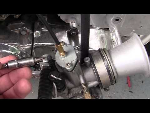 3- HOW TO FIX= Most common MOPED  Carb problem.