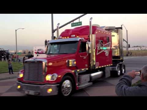 California NASCAR Hauler Parade 2013