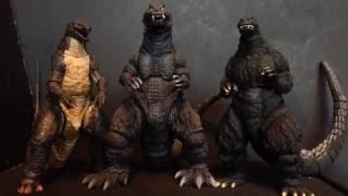 S.H.monster arts Godzilla 2001 (GMK) review