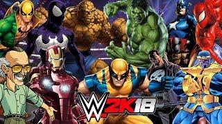 MARVEL | Royal Rumble WWE 2K18 Gameplay