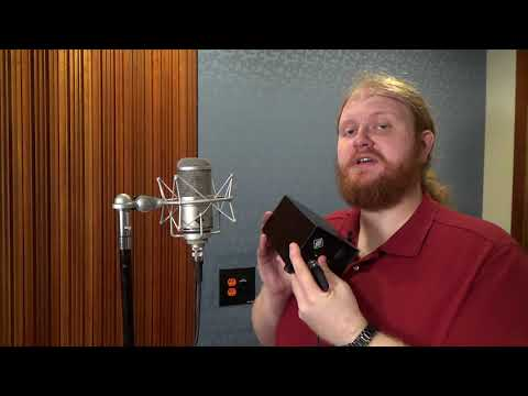 How to use a Tube Microphone - American University ATEC Instructional Video