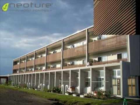 Revestimientos de madera sintetica para fachadas - Imitacion madera para fachadas ...