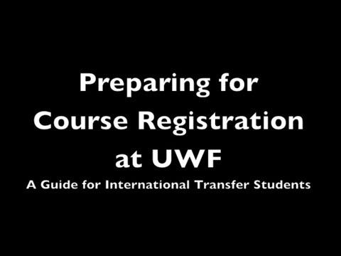 International Transfer Students: Preparing for Registration