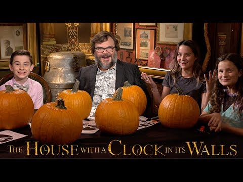 Pumpkin Carving Contest with Jack Black and Owen Vaccaro  Bratayley