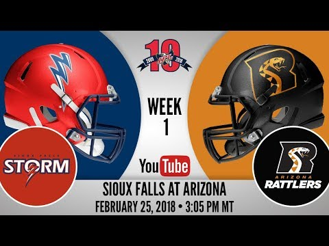 Week 1 | Sioux Falls Storm at Arizona Rattlers