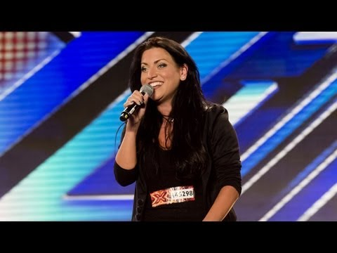 Nicola Marie's audition - Taylor Dayne's Tell It To My Heart - The X Factor UK 2012
