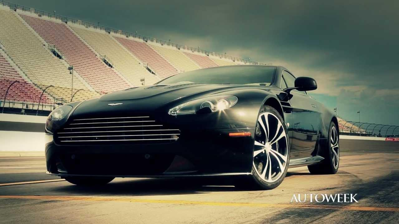2012 Aston Martin V12 Vantage Track Day Video Feature Youtube