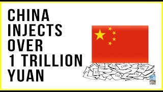 China Injects Over 1 Trillion Yuan Into Markets! GDP Growth Slowest Since 1990!