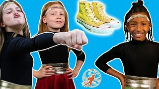 High Top Princess: Magic Shoes 8 - The Cousins, The Hoverboard and The Princess Super Powers