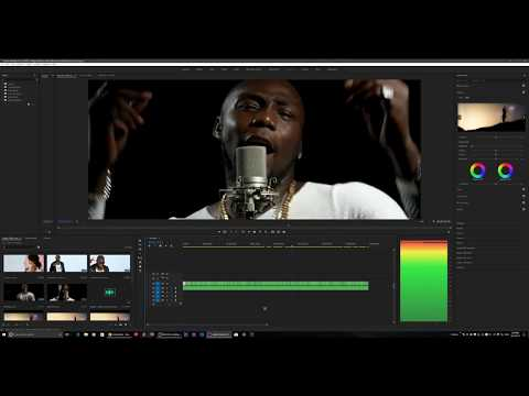 Multi camera editing - Premiere Pro cc - Music Video ( BIGBOI - Getto Lover )